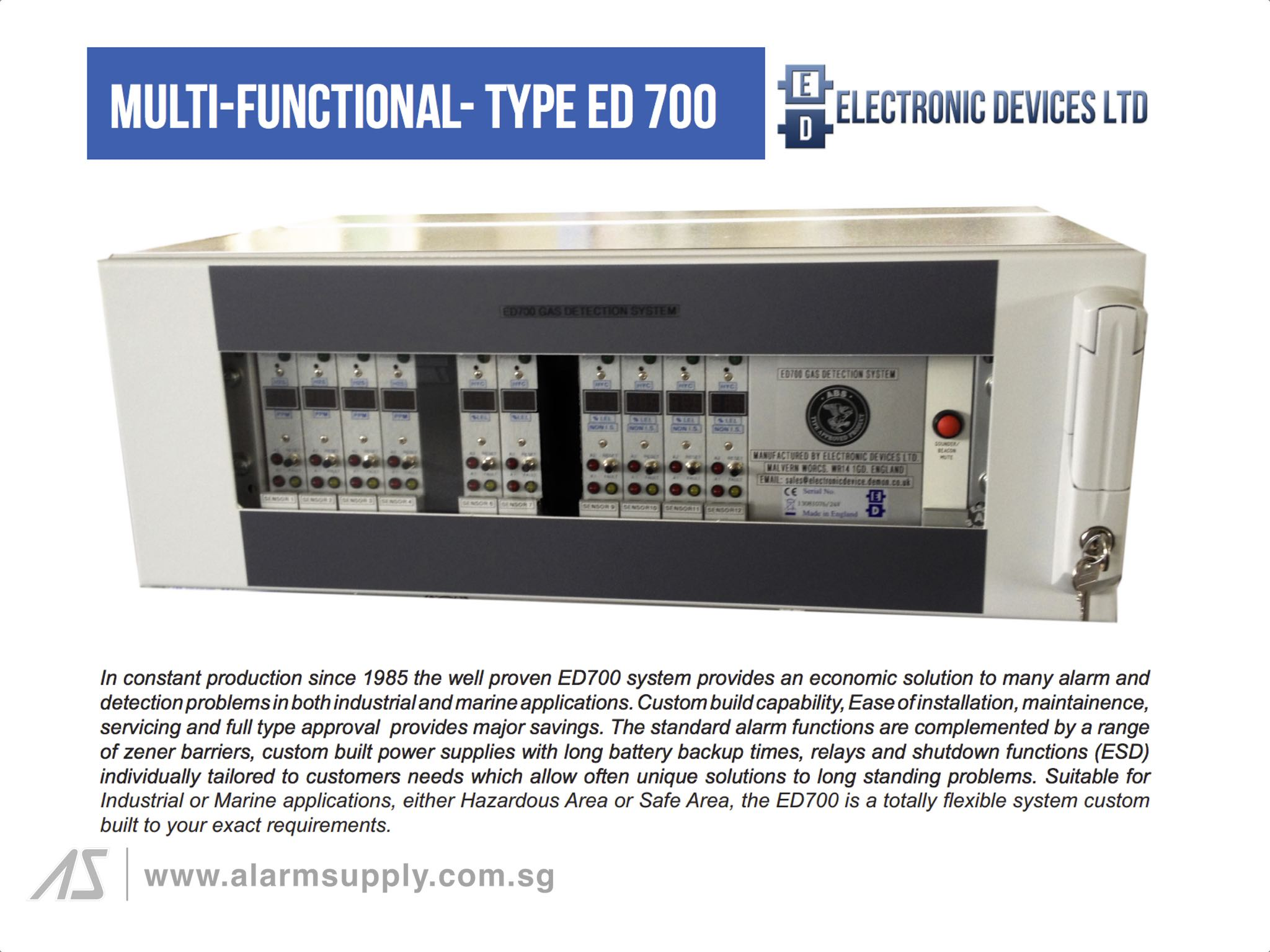 Alarm Supply Pte Ltd Electronic Devices Limited